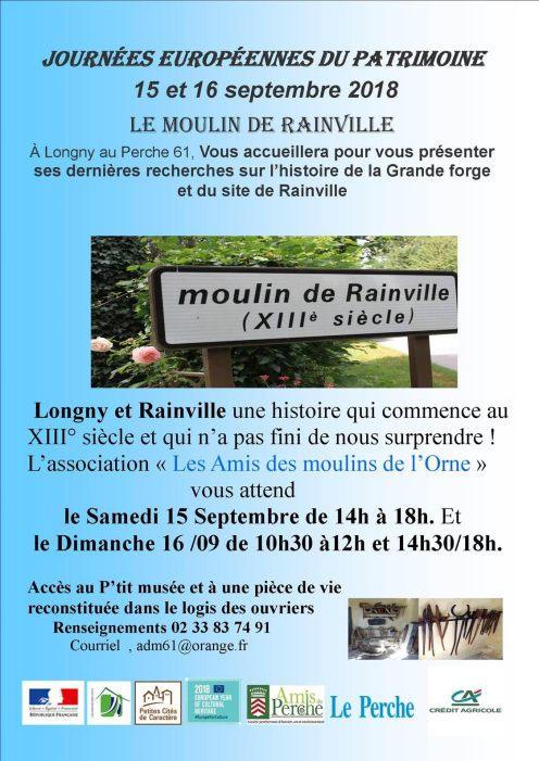 Ouverture JEP Rainville