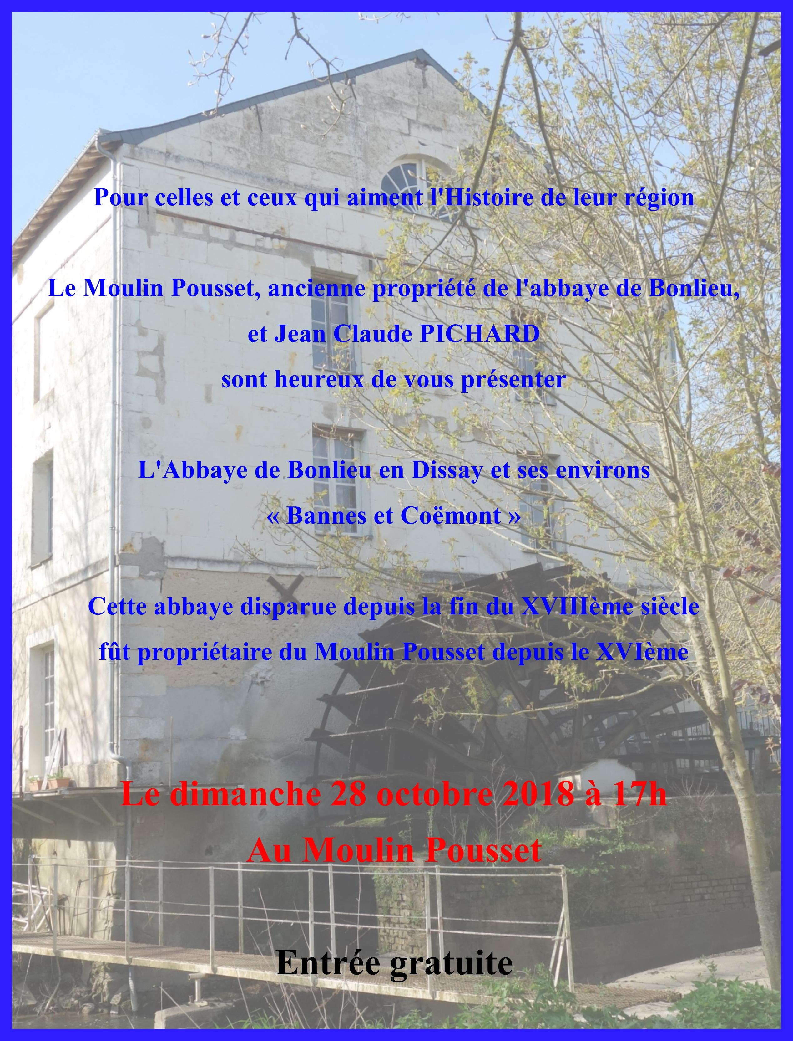 Expo moulin Pousset