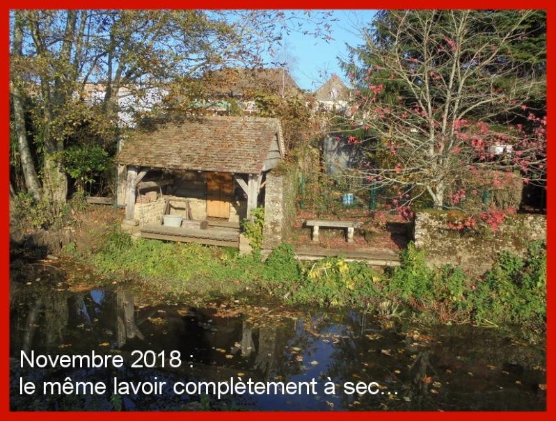 Lavoir sans eau novembre 2018 AVEC TEXTE