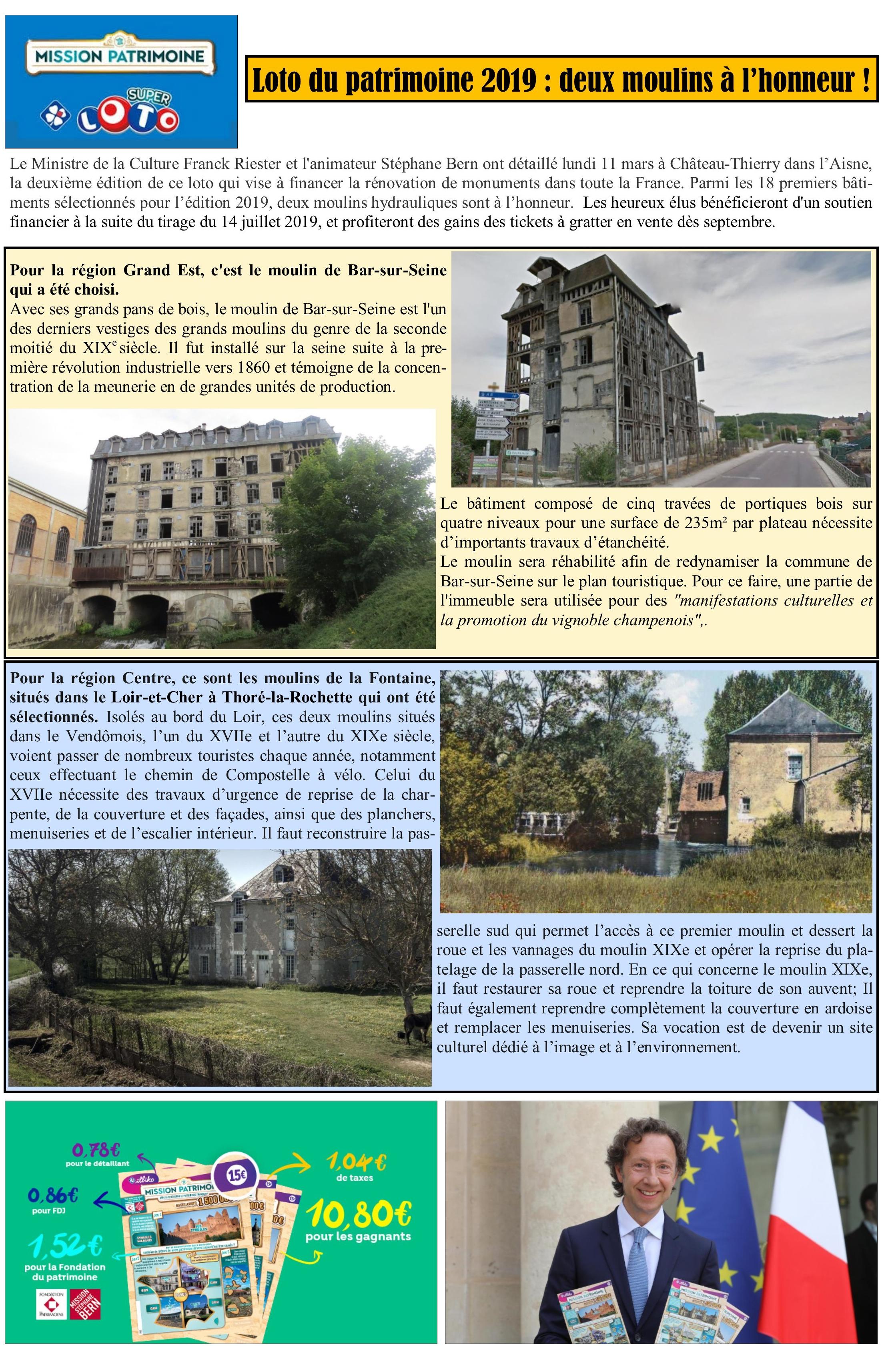 Article 2 moulins patrimoine Bern 2019