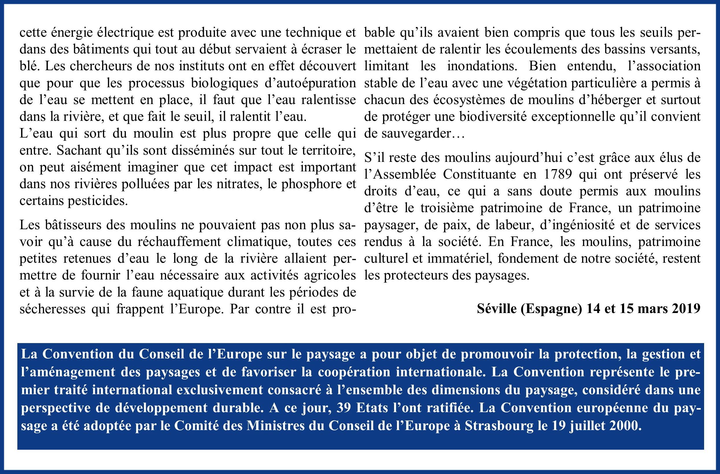 Discours Alain Forsans Conseil de l'Europe page 2