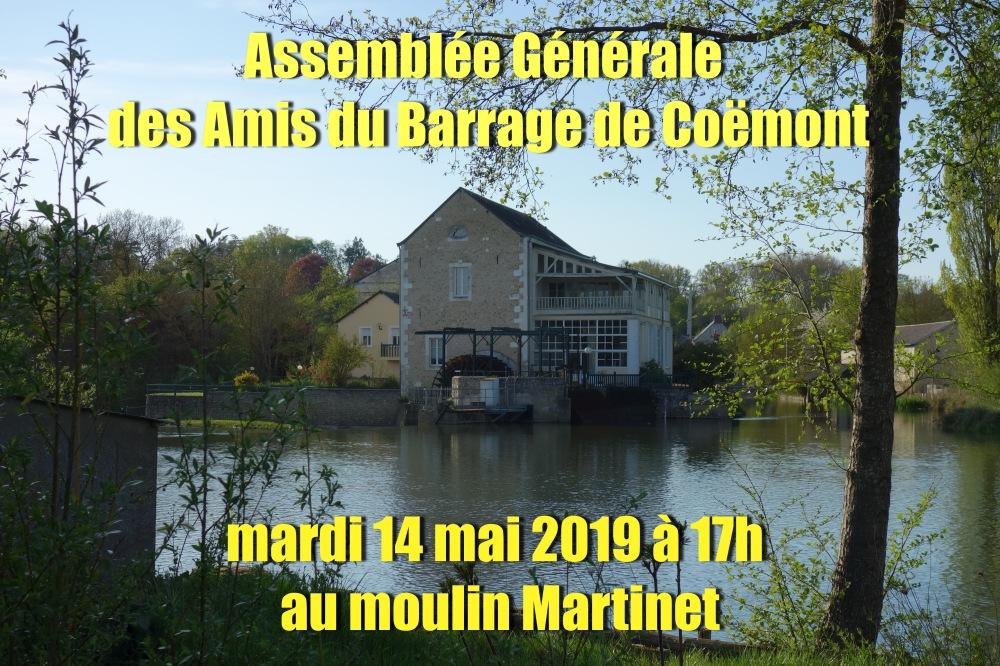 AG 2019 Amis barrage de Coëmont