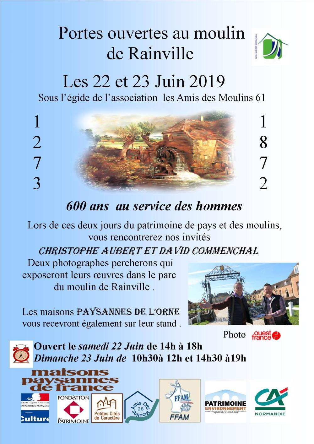 JPPM 2019 moulins de l'Orne