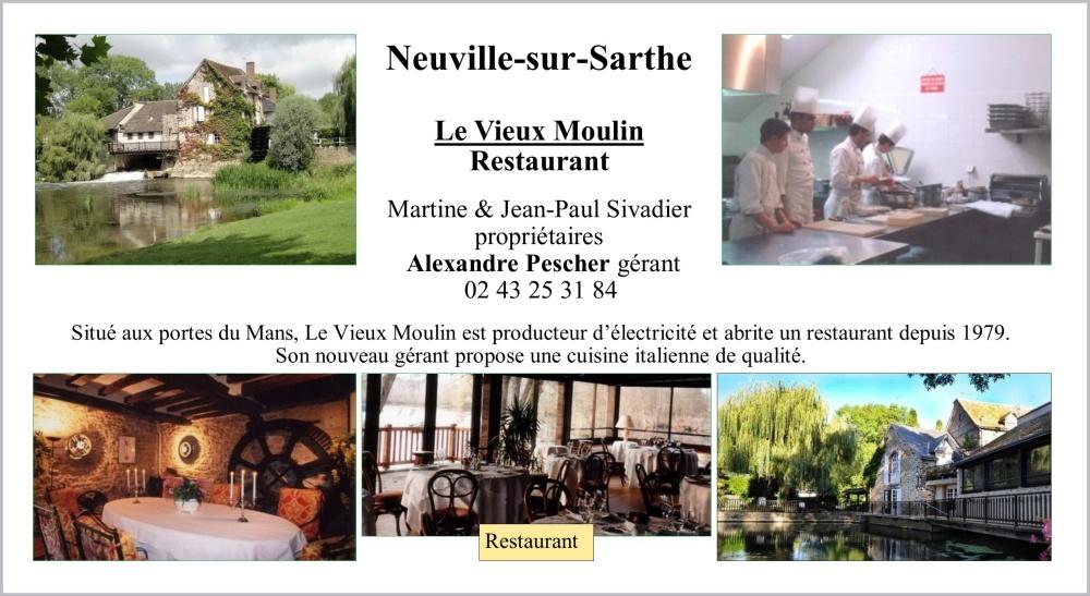 Le vieux moulin resto de Neuville