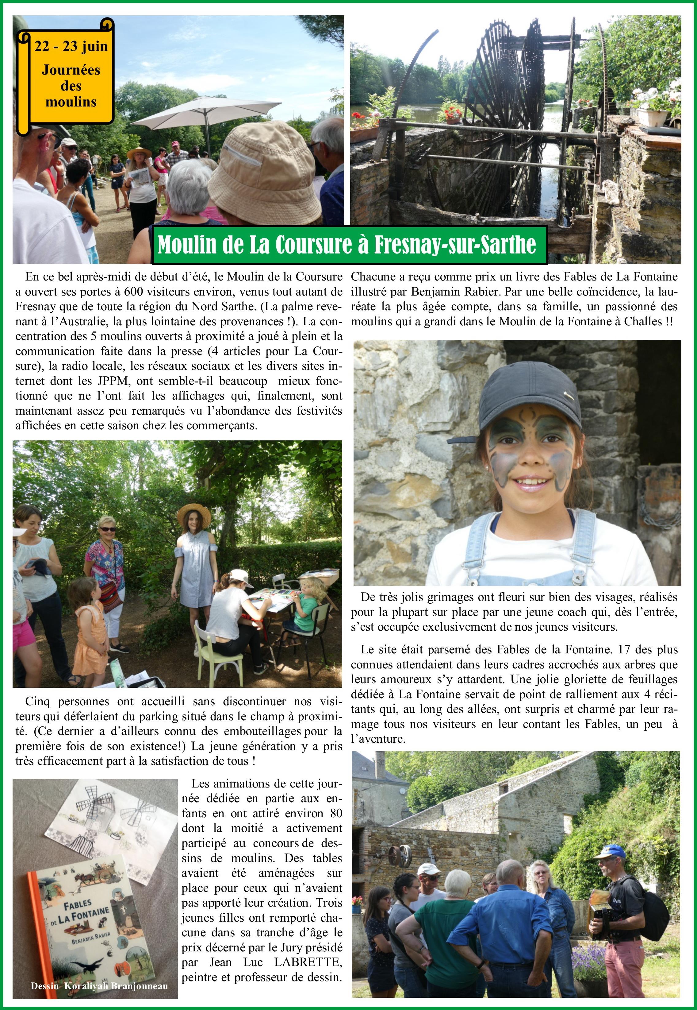 Article JDM La Coursure à Fresnay 1