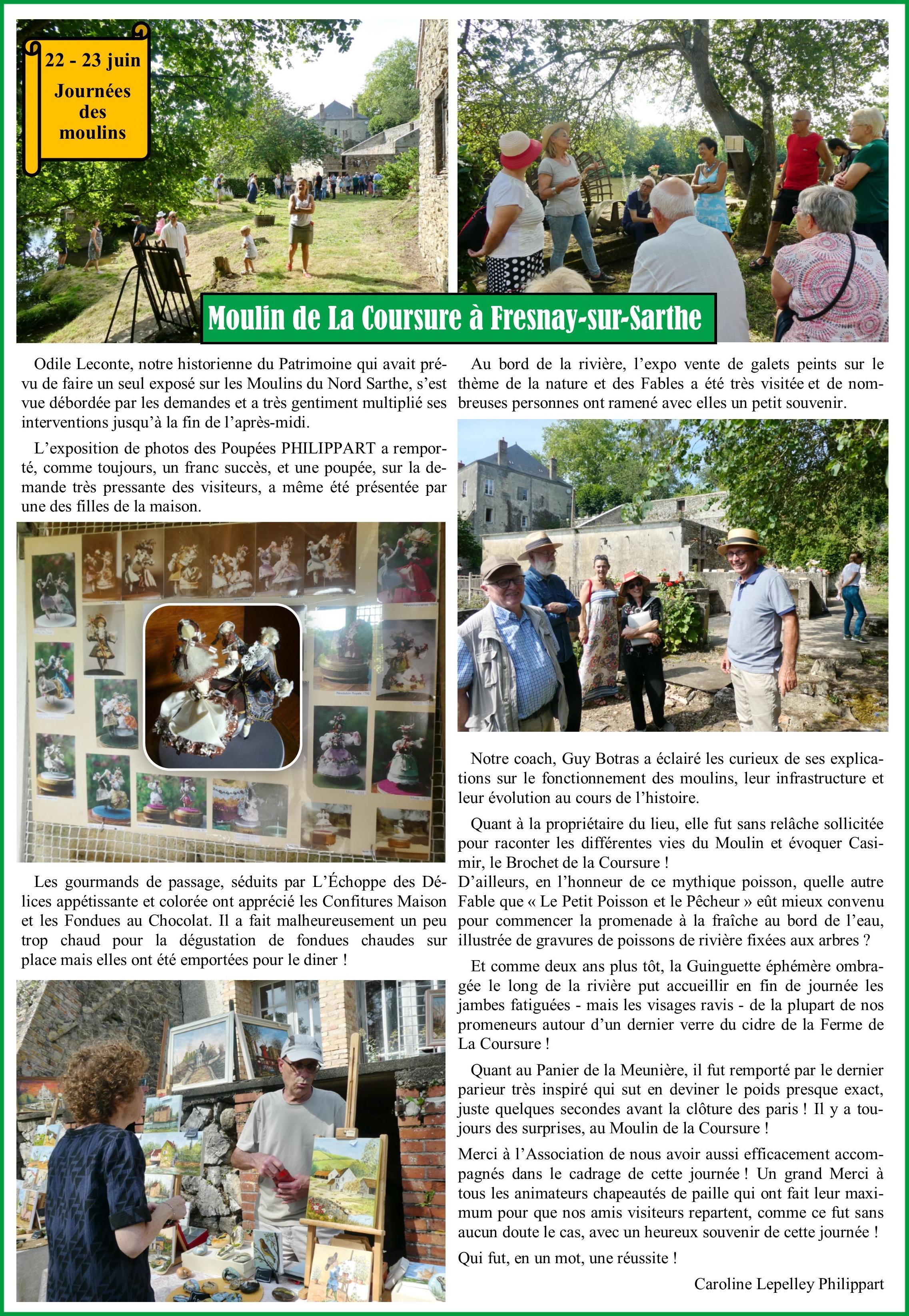 Article JDM La Coursure à Fresnay 2
