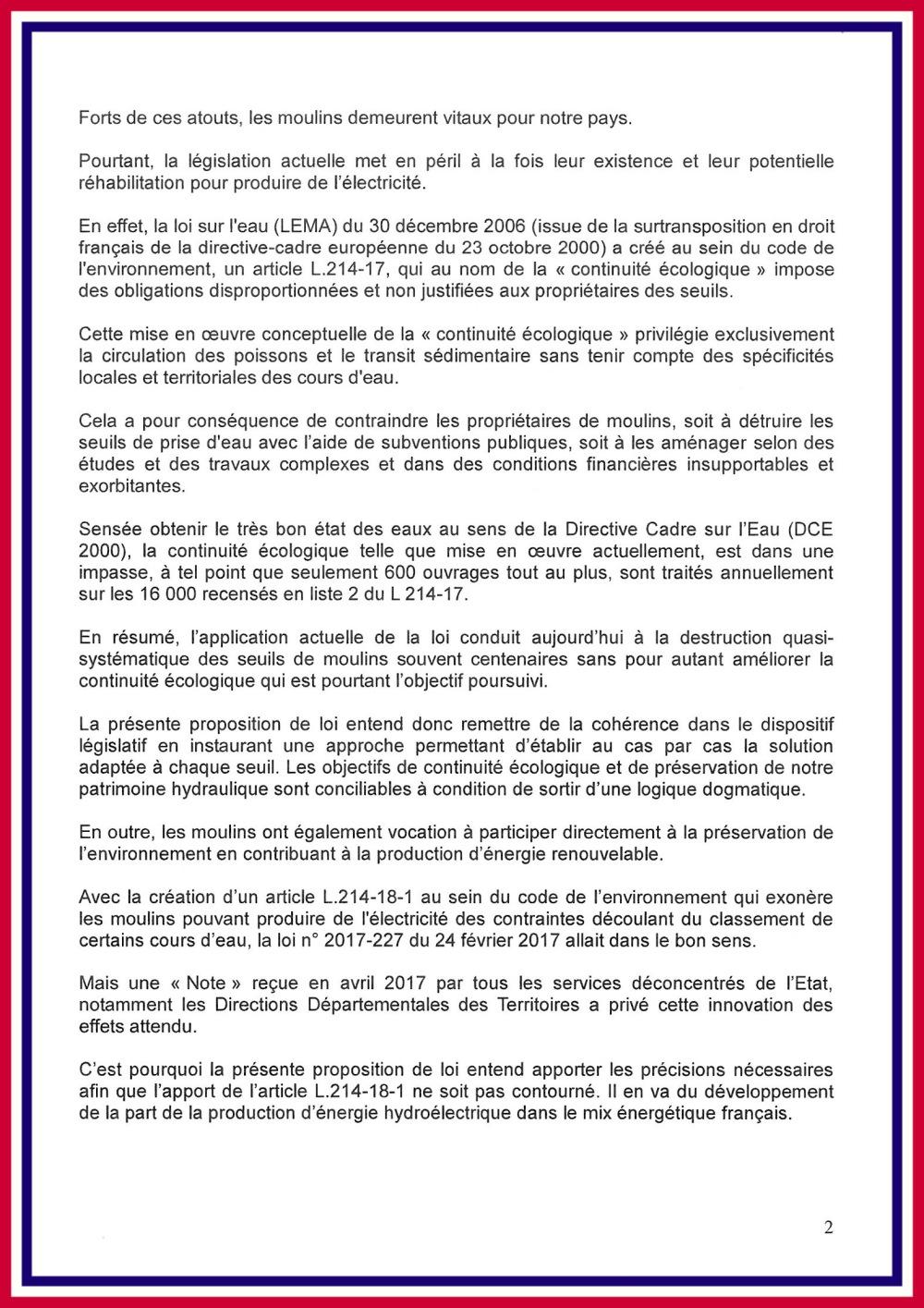Proposition loi V. Lacroute page 2