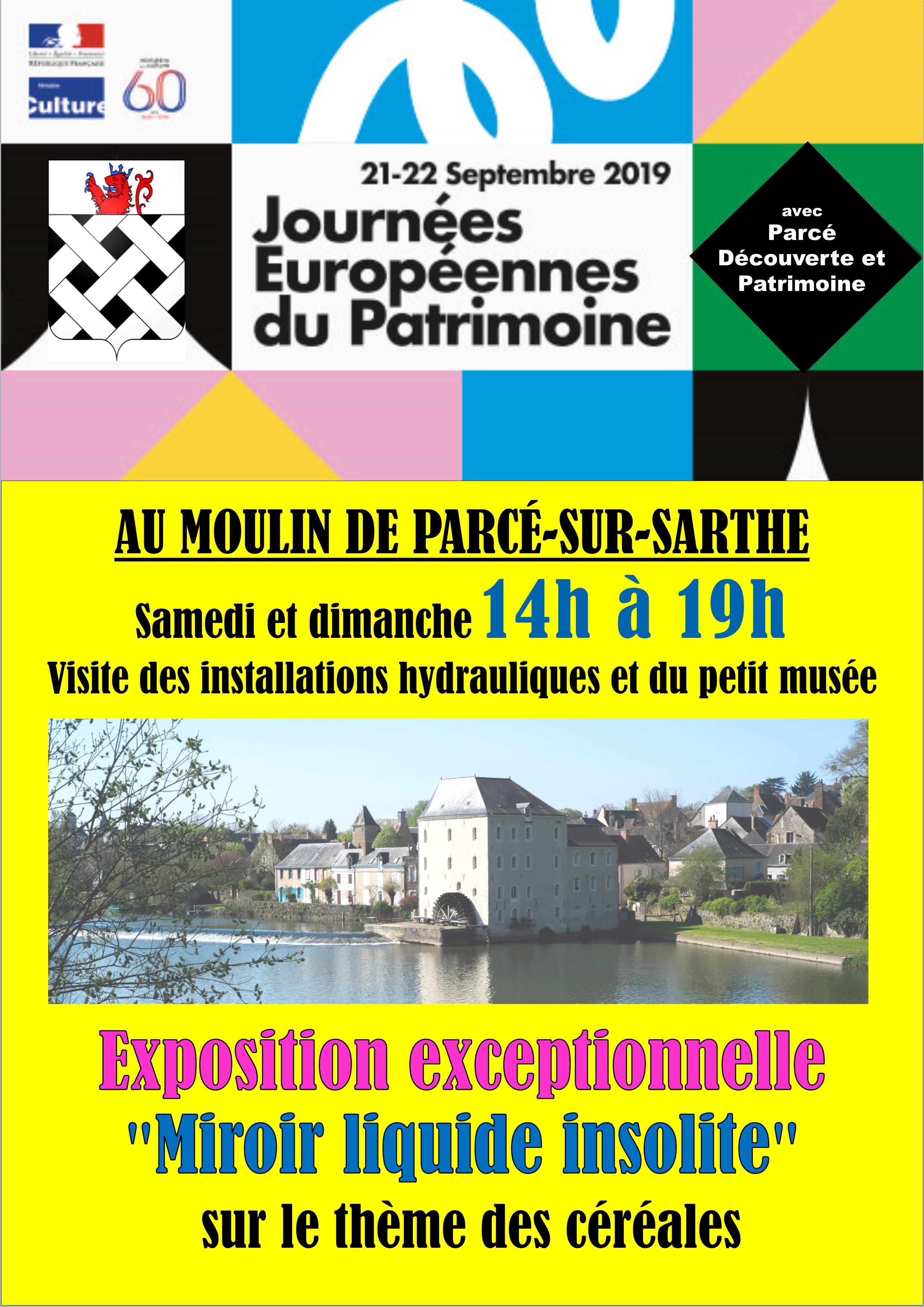 Affiche pour village et facebook