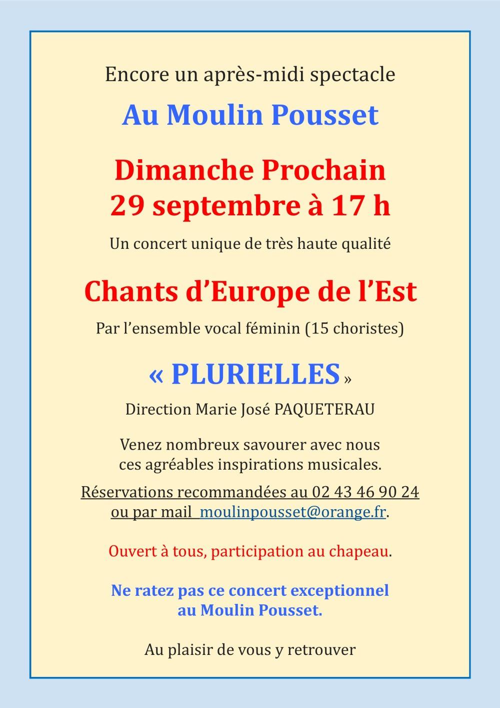 concert moulin pousset 29 septembre