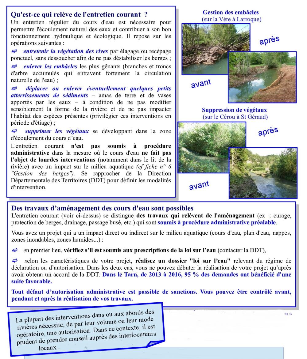 Droits et devoirs des propriétaires riverains-2