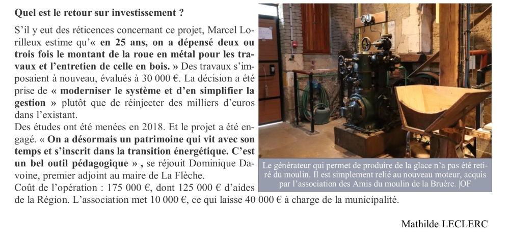 La Bruère Ouest France 3 mars 2020 page 2