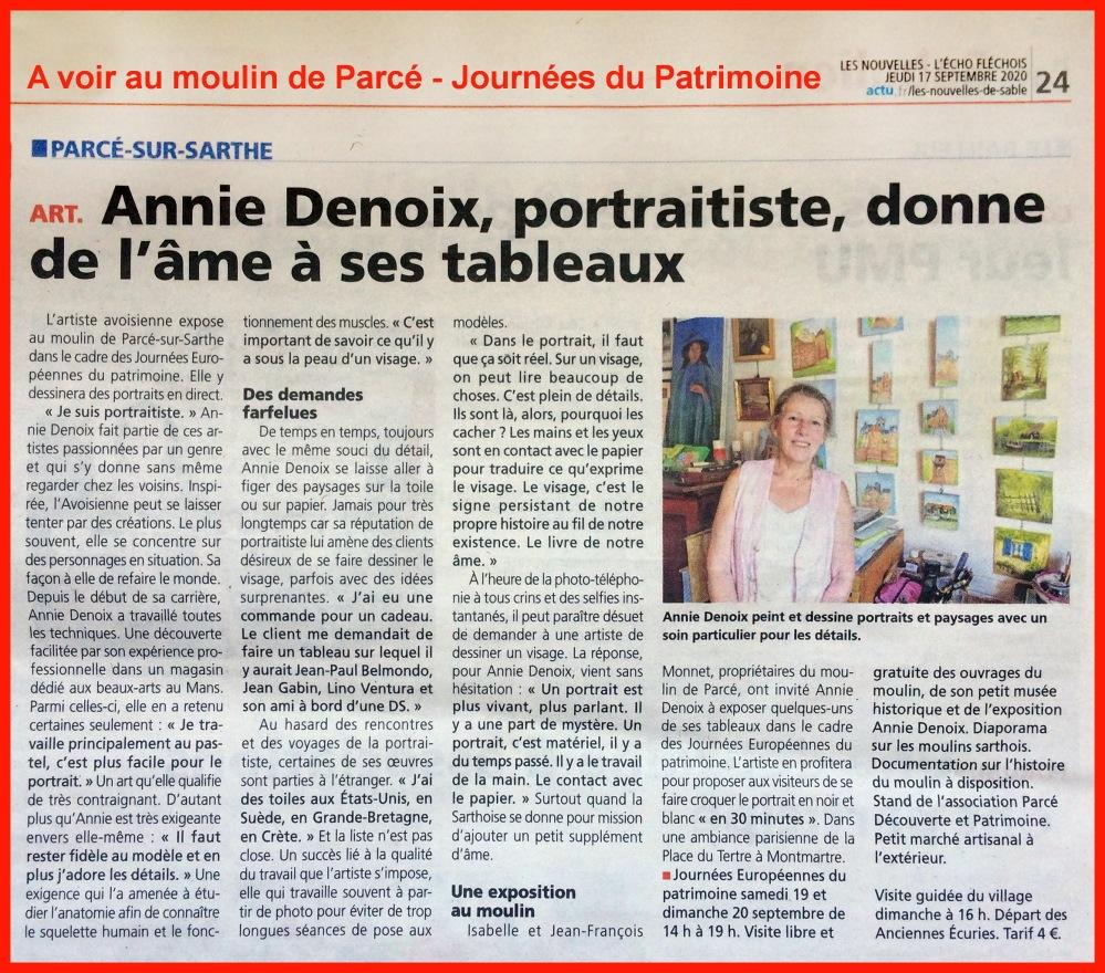Annie Denoix à Parcé