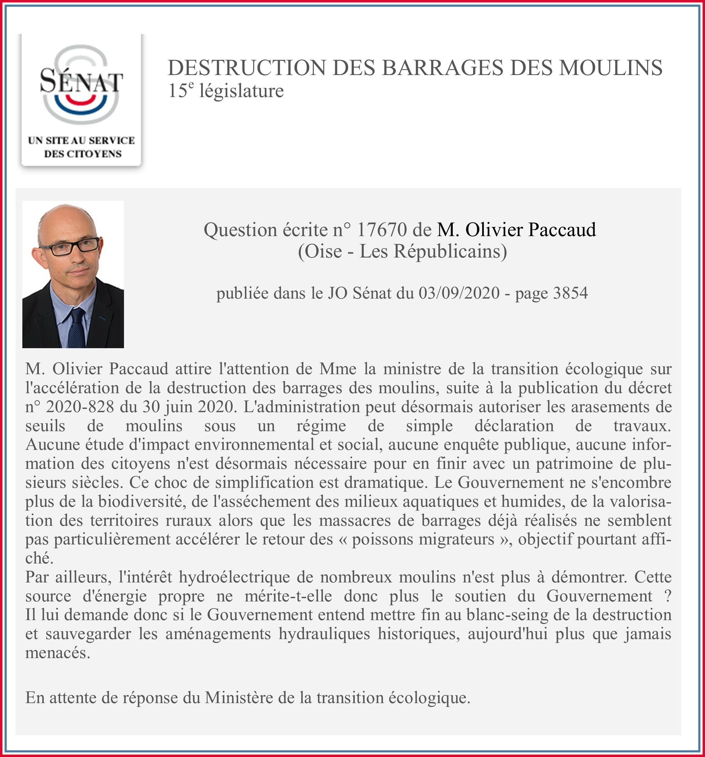 Olivier Paccaud sénateur Oise