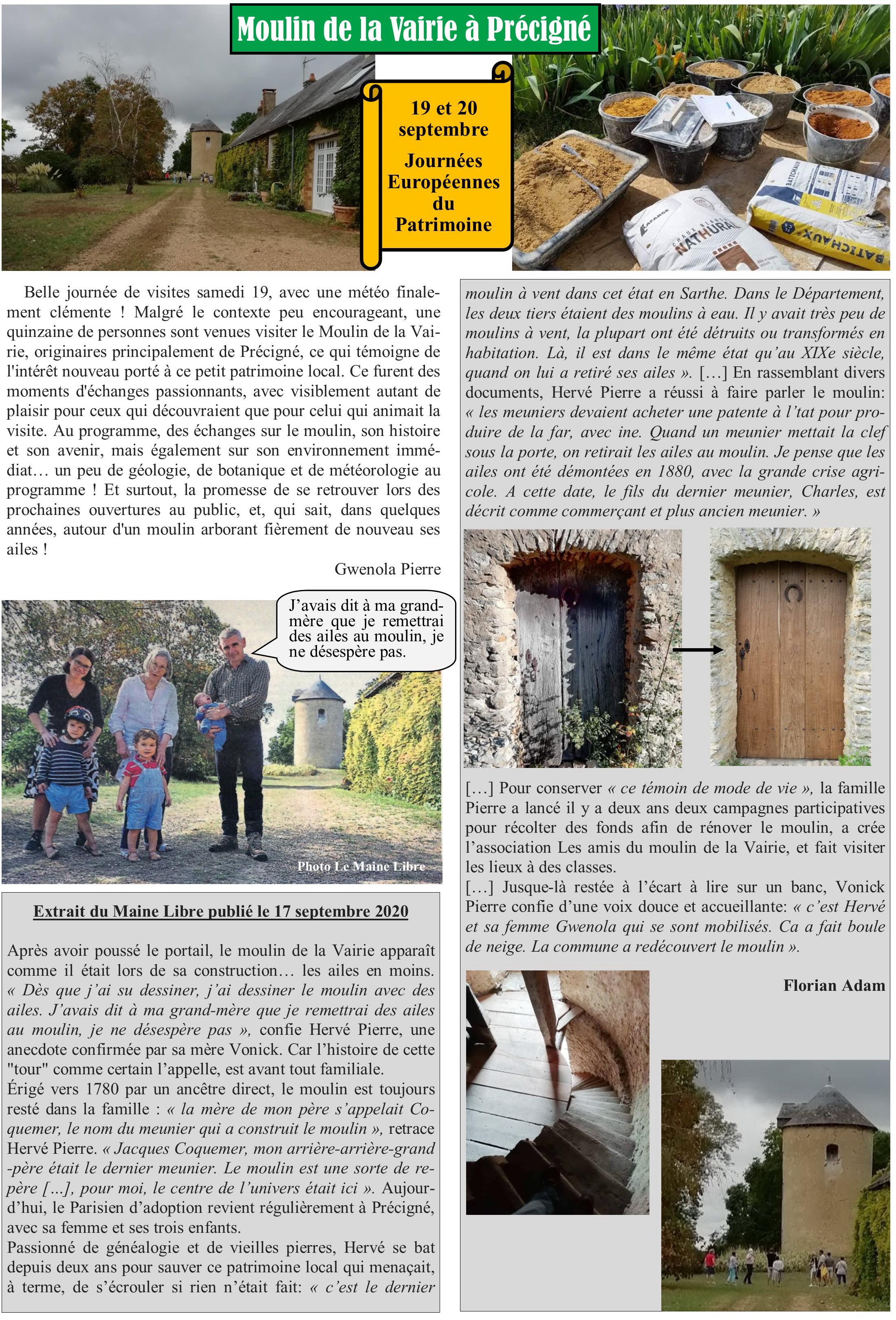 Article JEP La Vairie