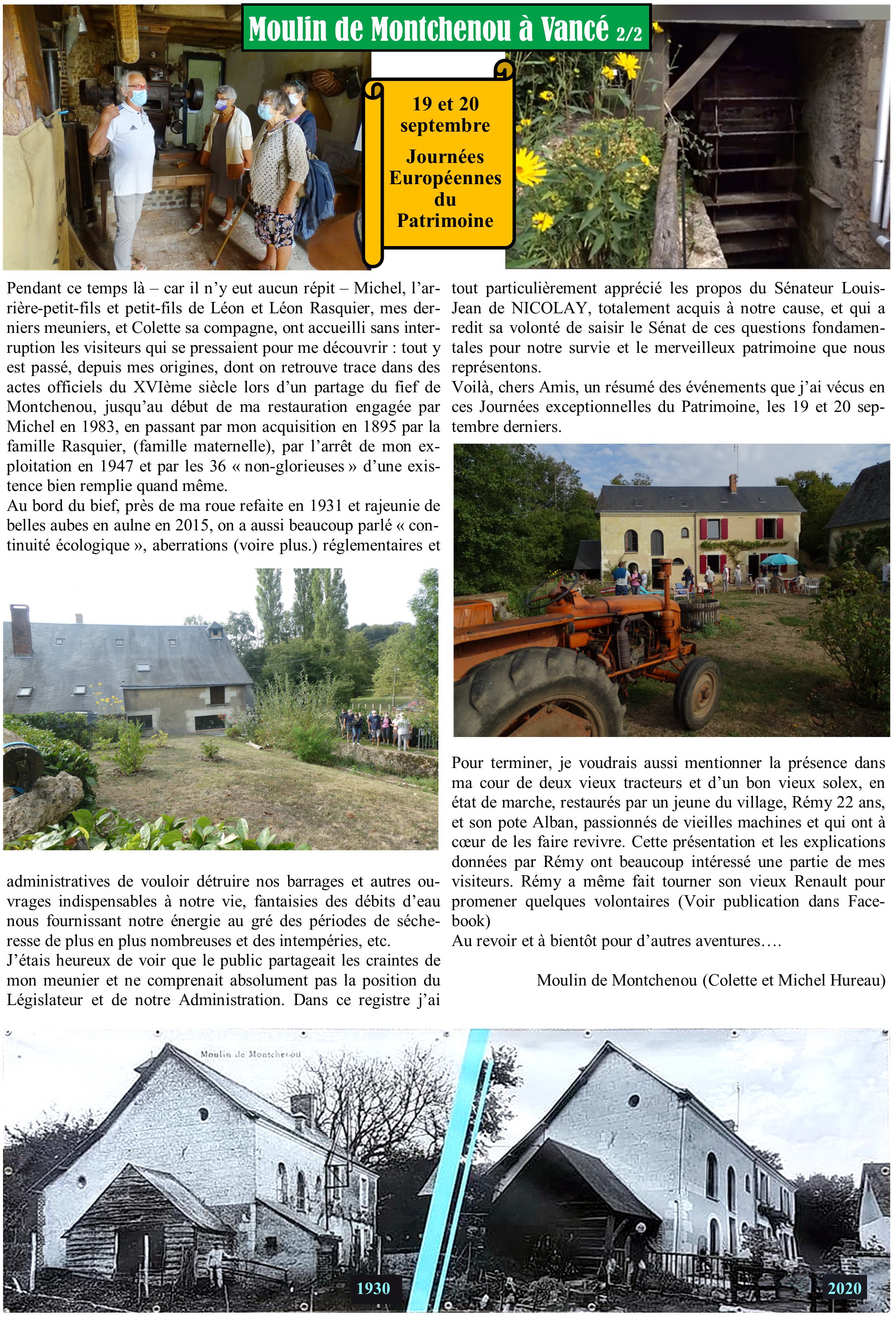 Article JEP Montchenou à Vancé