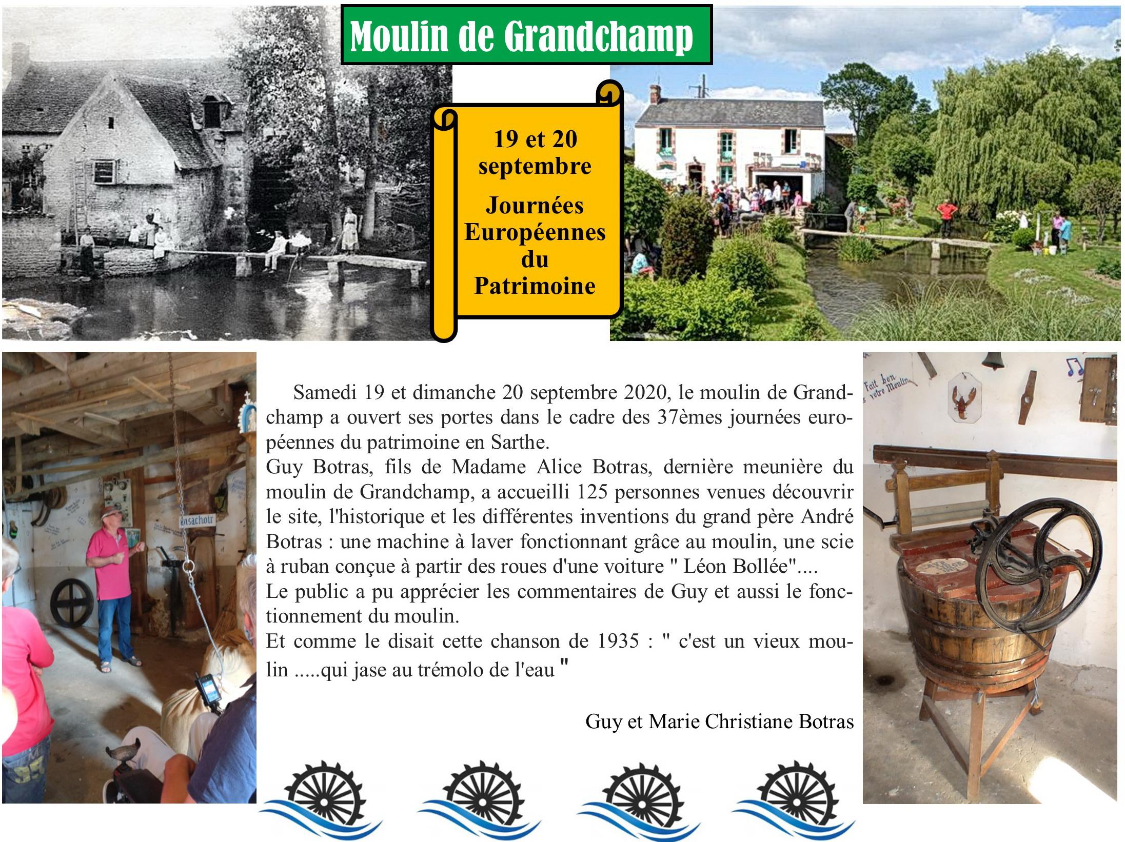 Article JEP moulin de Grandchamp