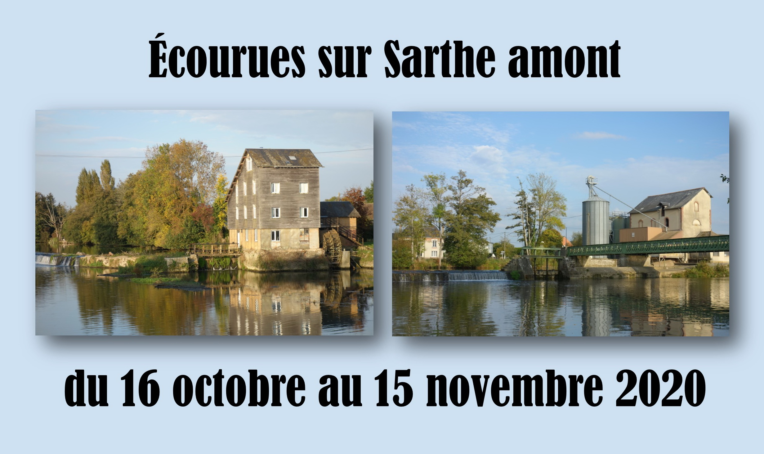 Écourues Sarthe amont 2020