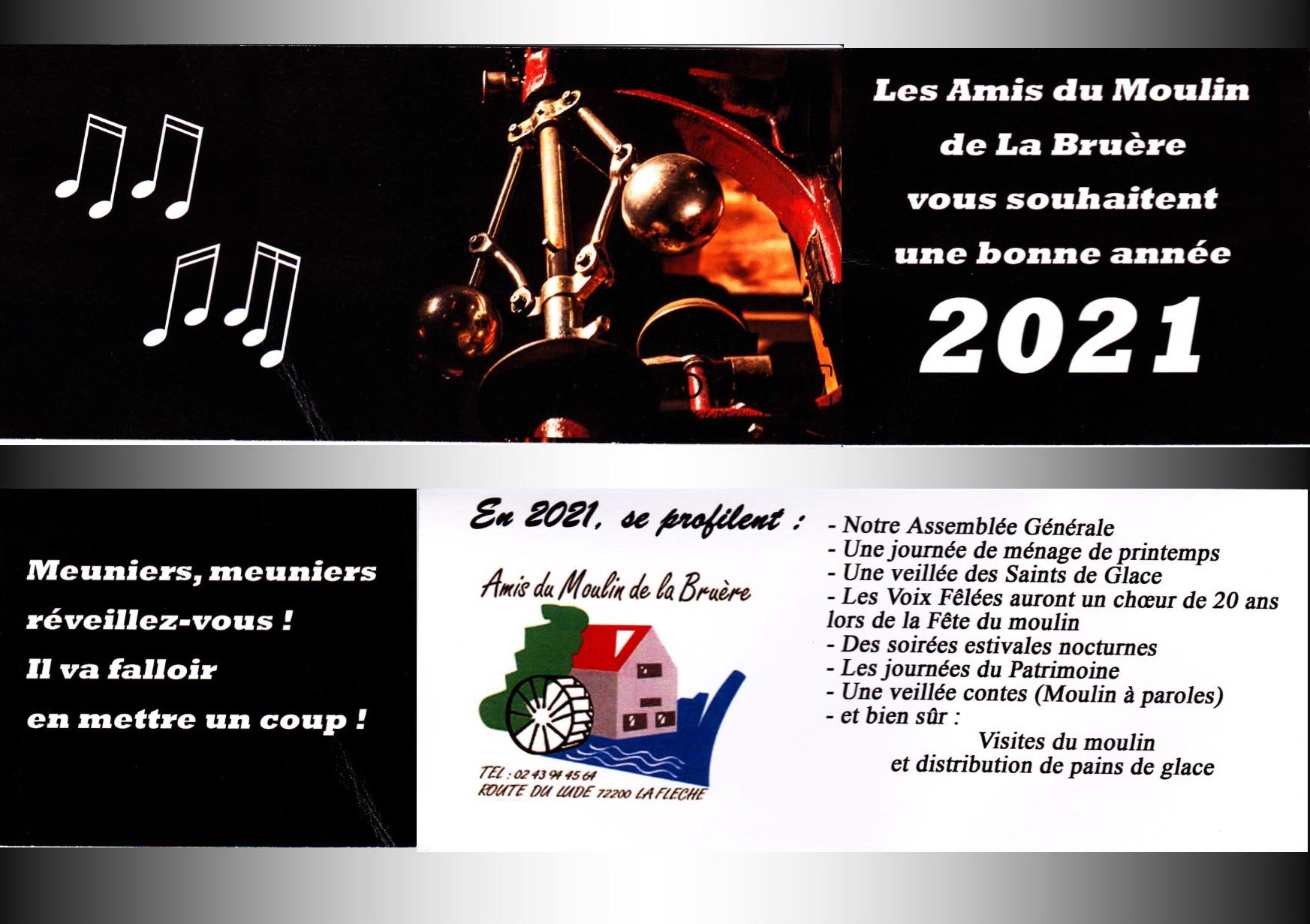2021 Carte voeux LA BRUERE
