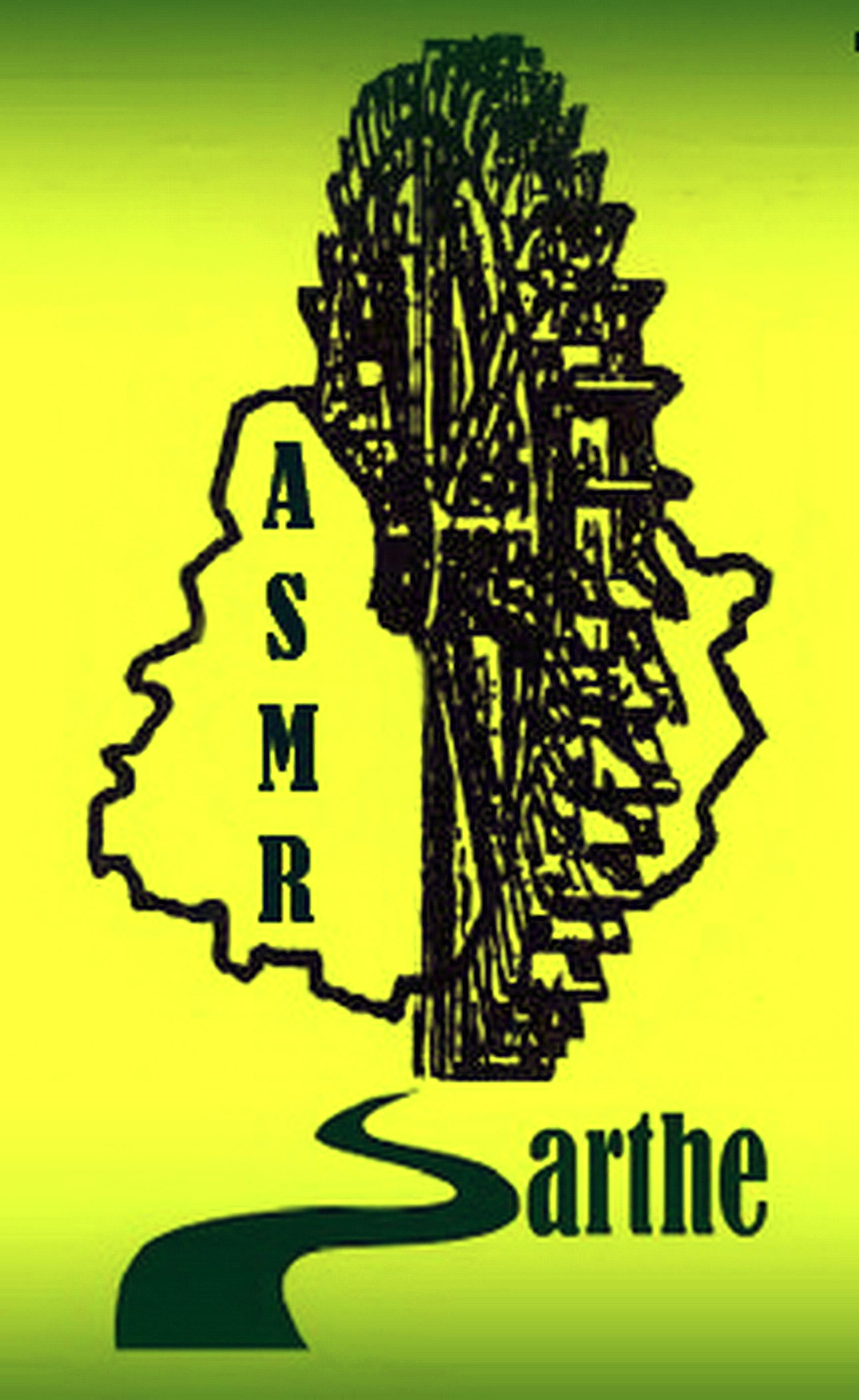 Logo ASMR 72 en jaune
