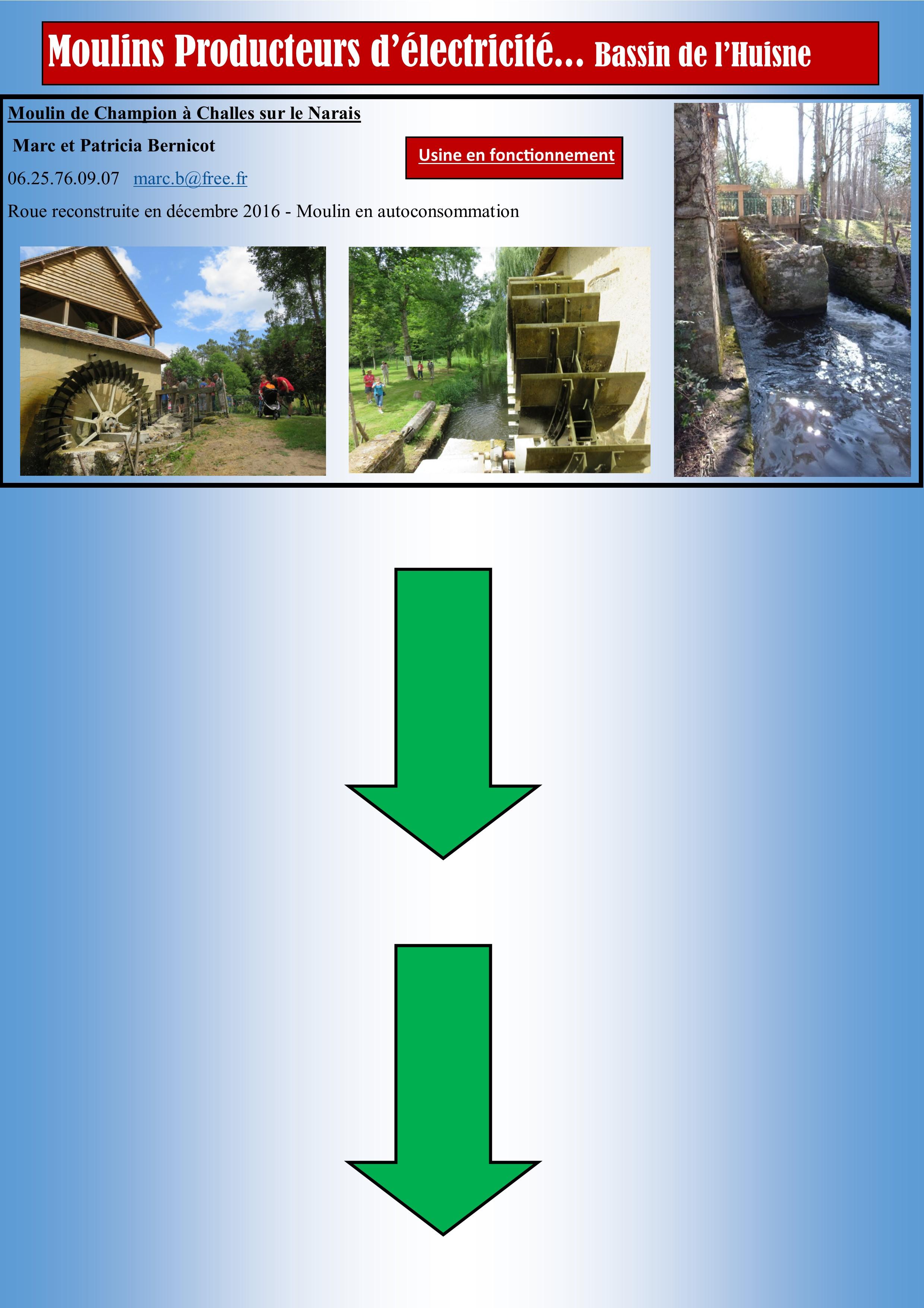 Hydroélectricité Huisne 2