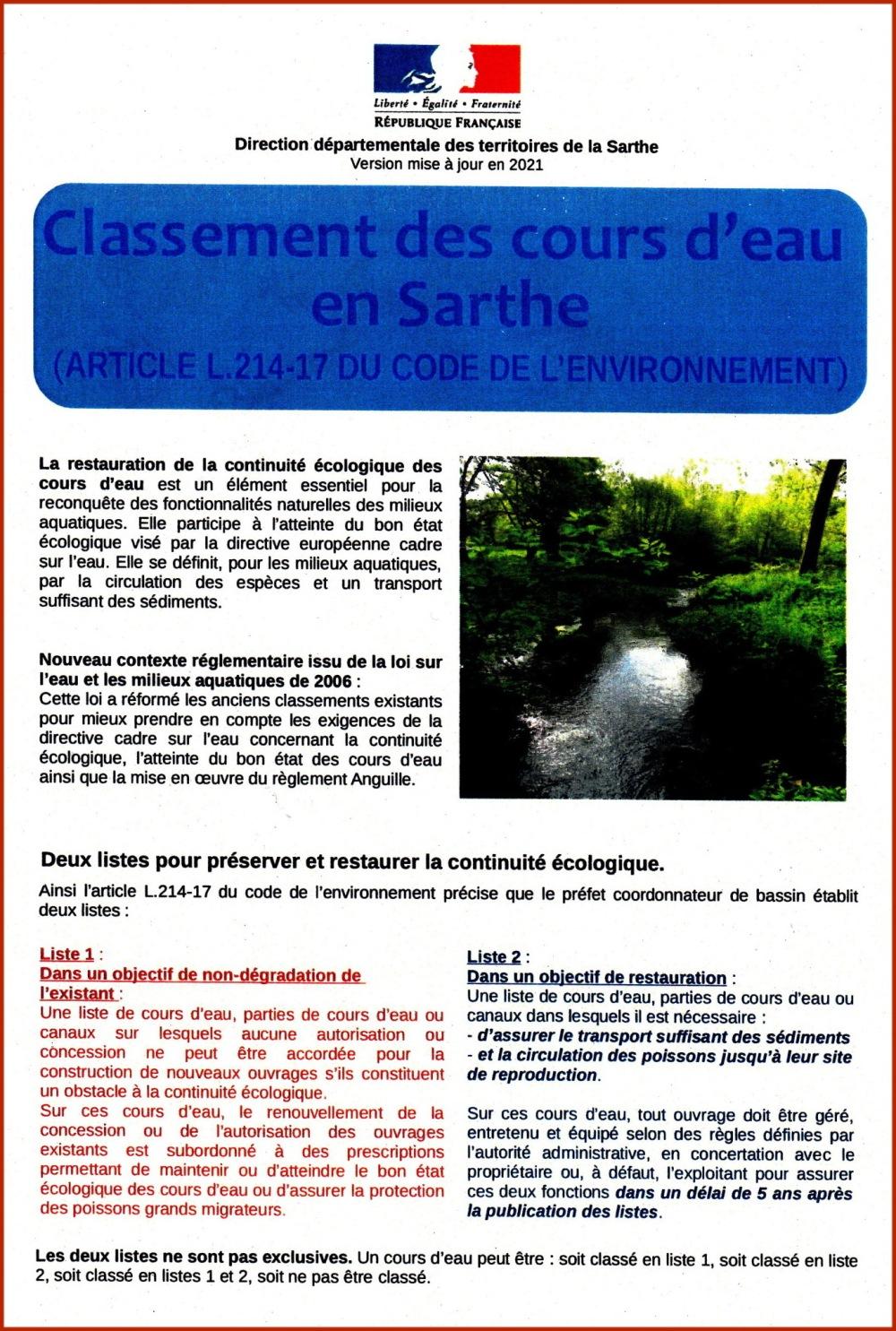 Classement cours d'eau L214-17_1